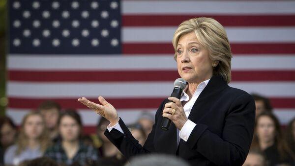 ABD eski Dışişleri Bakanı Hillary Clinton - Sputnik Türkiye