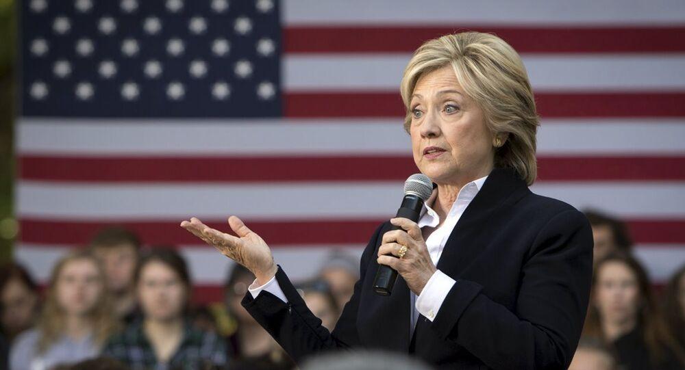 ABD eski Dışişleri Bakanı Hillary Clinton