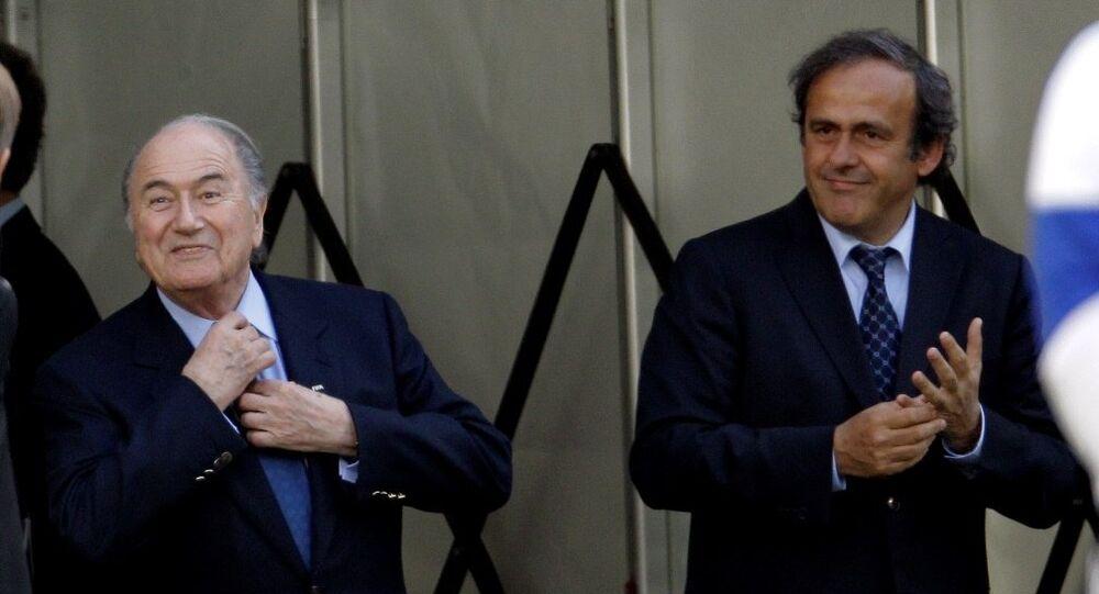 FIFA Başkanı Sepp Blatter - UEFA Başkanı Michel Platini