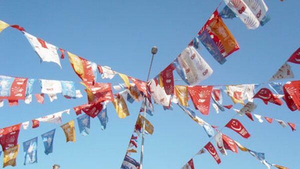 siyasi parti bayrakları - Sputnik Türkiye