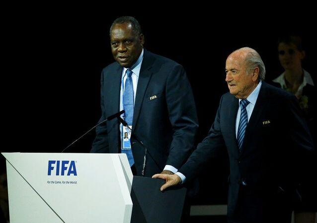 FIFA İcra Kurulu Başkan Yardımcısı Issa Hayatou