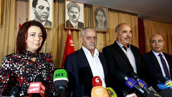 Nobel Barış Ödülü'nü Tunus Diyalog Komitesi üyeleri - Sputnik Türkiye