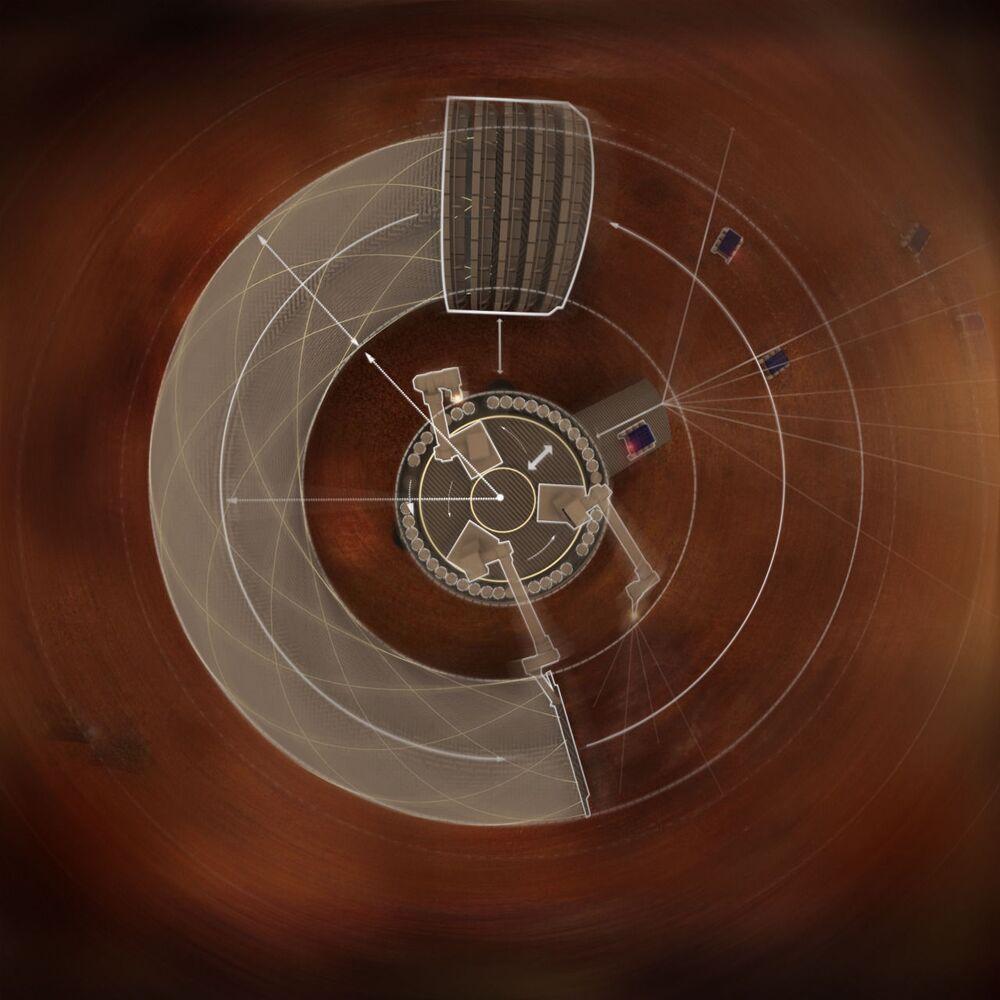 Marst'ta uzay ev projesi