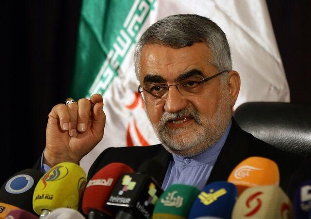 İran Ulusal Güvenlik ve Dış Politika Konseyi Başkanı Alaeddin Burucerdi