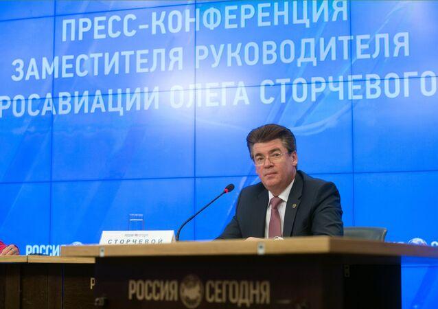 Rusya Federal Hava Taşımacılığı Ajansı Başkan Yardımcısı Oleg Storçevoy