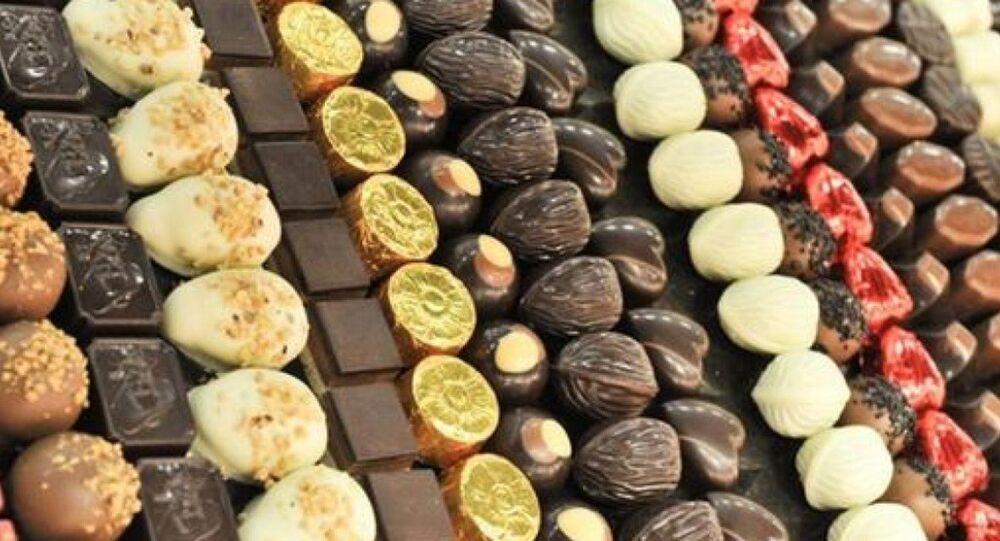 çikolata, şeker