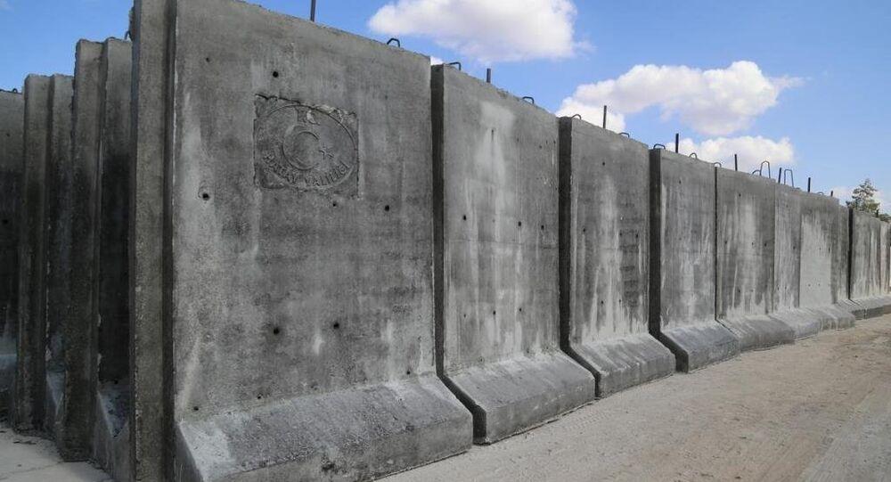 Suriye sınır duvar