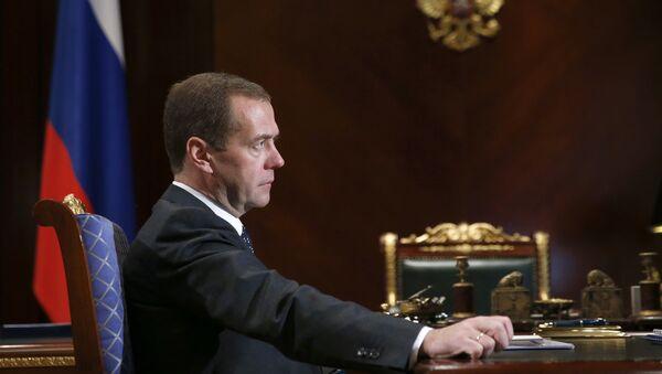 Rusya Başbakanı Dmitriy Medvedev - Sputnik Türkiye