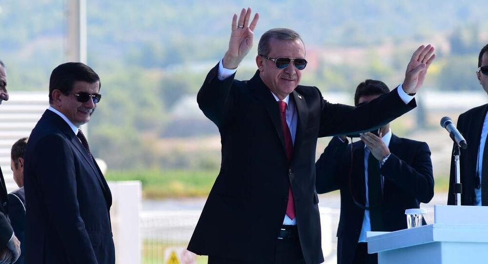 Cumhurbaşkanı Erdoğan ve Başbakan Davutoğlu