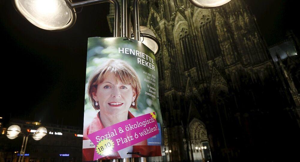 Köln Belediye Başkanı Henriette Reker