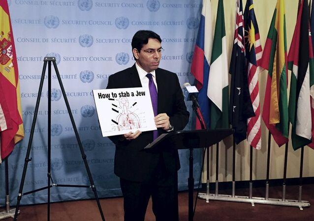 İsrail'in BM Temsilcisi Danny Danon