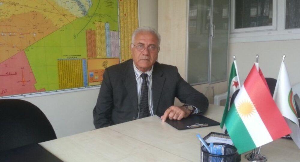 Suriye Muhalif ve Devrimci Güçler Koalisyonu üyesi Fuad Eliko