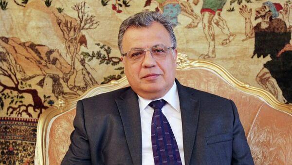 Rusya'nın Ankara Büyükelçisi Andrey Karlov - Sputnik Türkiye