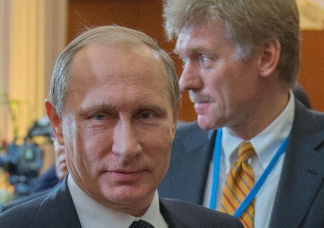 Vladimir Putin - Dmitriy Peskov