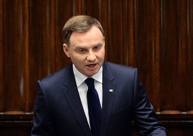 Polonya Devlet Başkanı Andrey Duda