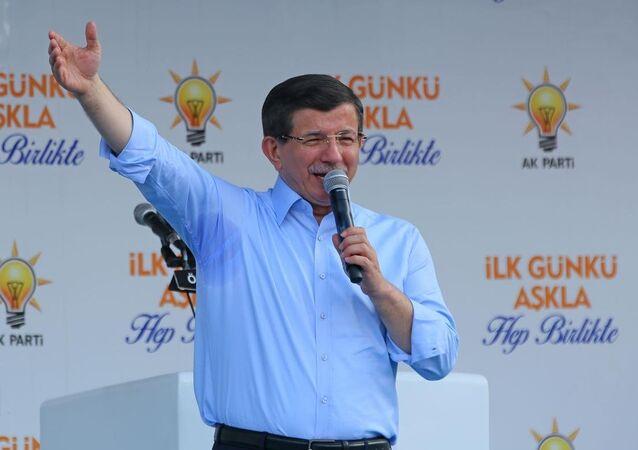AK Parti Genel Başkanı ve Başbakan Ahmet Davutoğlu, İzmir'in Ödemiş ilçesinde partisinin düzenlediği mitinge katılarak vatandaşlara hitap etti.