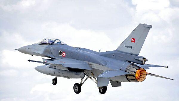 Türk F-16 uçağı - Sputnik Türkiye