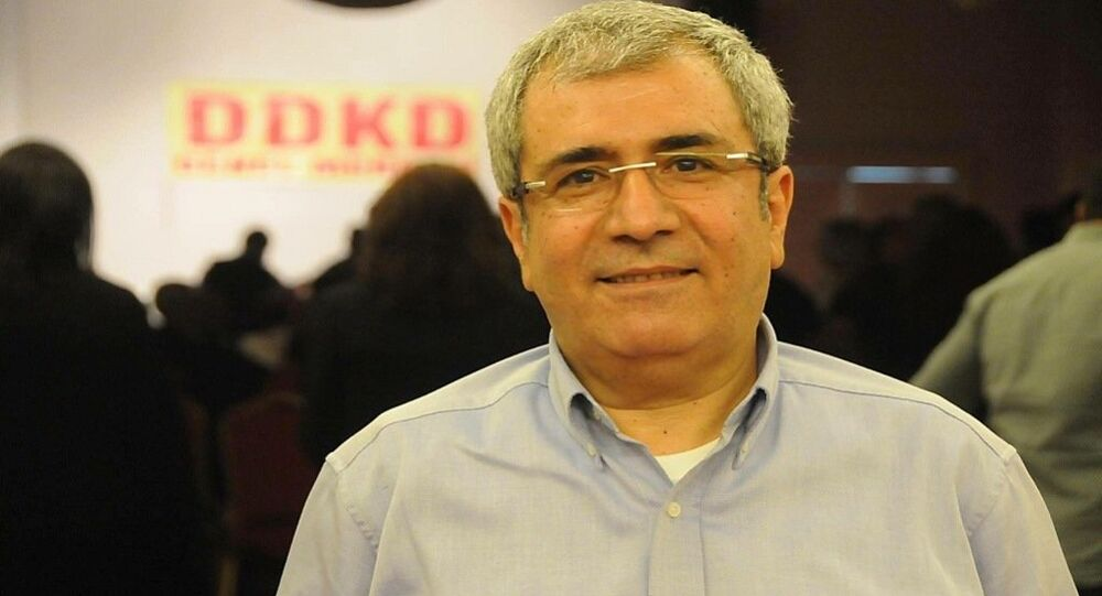 HDP Diyarbakır Milletvekili İmam Taşçıer