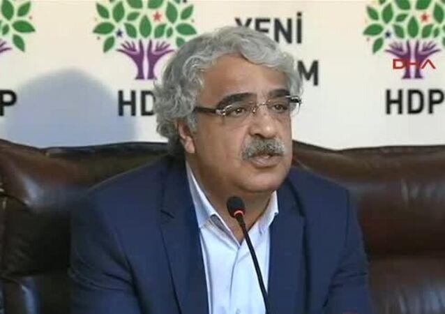 HDP Mardin Milletvekili Mithat Sancar