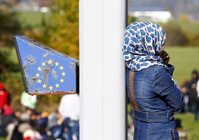 Avusturya - Almanya sınırında sığınmacılar
