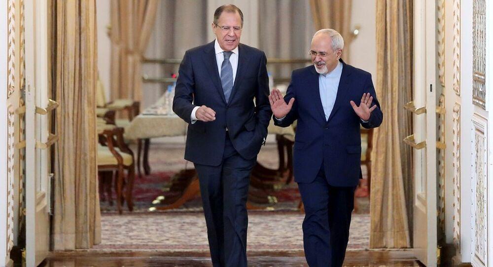 Rusya Dışişleri Bakanı Sergey Lavrov - İran Dışişleri Bakanı Muhammed Cevad Zarif
