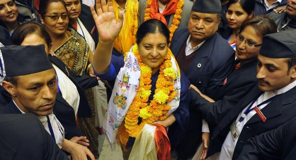 Nepal'in ilk kadın Cumhurbaşkanı Bidhya Devi Bandari