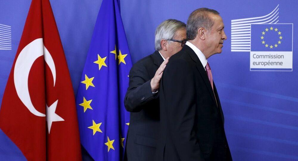 Türkiye Cumhurbaşkanı Recep Tayyip Erdoğan - Avrupa Komisyon Başkanı Jean-Claude Juncker