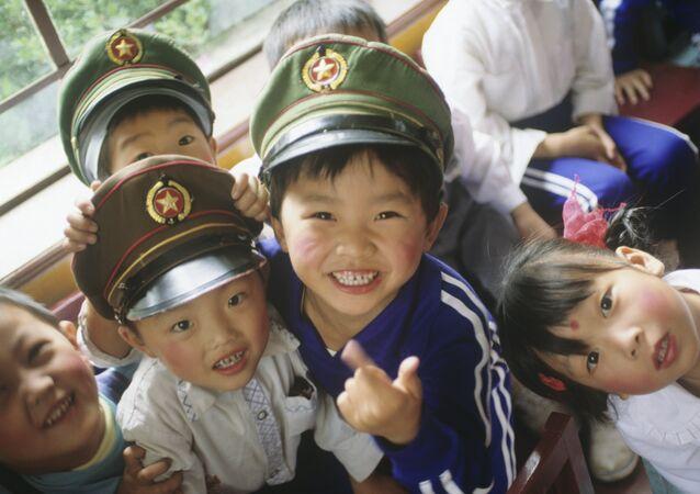 Çinli çocuklar