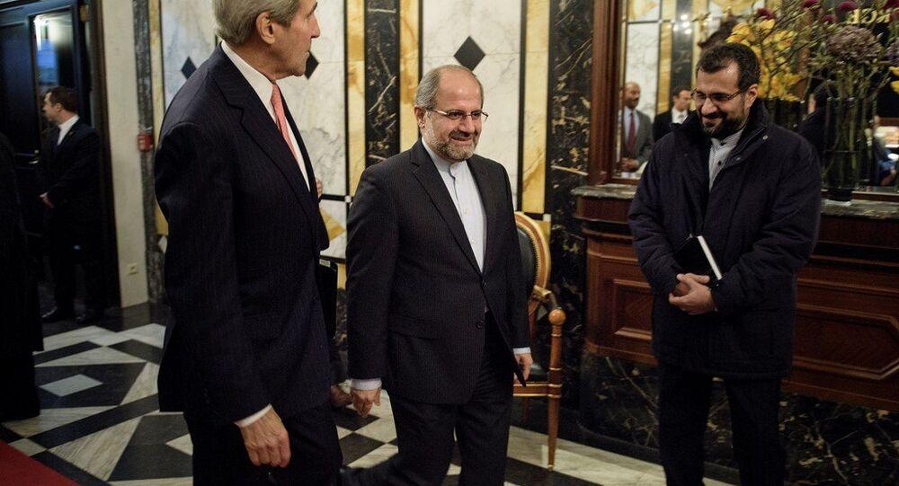 ABD Dışişleri Bakanı John Kerry, Viyana'daki Suriye görüşmeleri öncesinde İran Dışişleri Bakanı Muhammed Cevad Zarif  ile bir araya geldi.