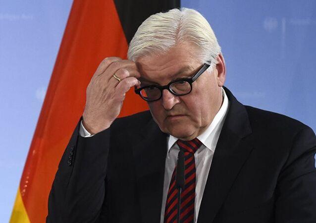 Almanya Dışişleri Bakanı Frank Walter-Steinmeier