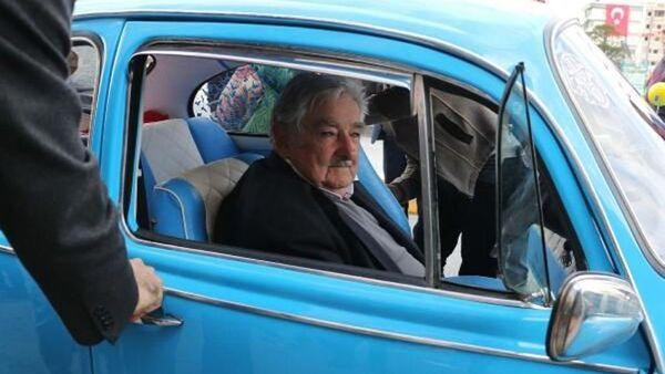 İsranbul'u ziyaret eden eski Uruguay Devlet Başkanı Jose Mujica - Sputnik Türkiye