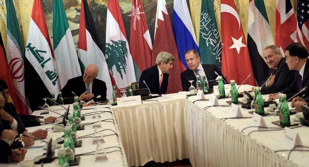 Viyana'daki Suriye görüşmeleri