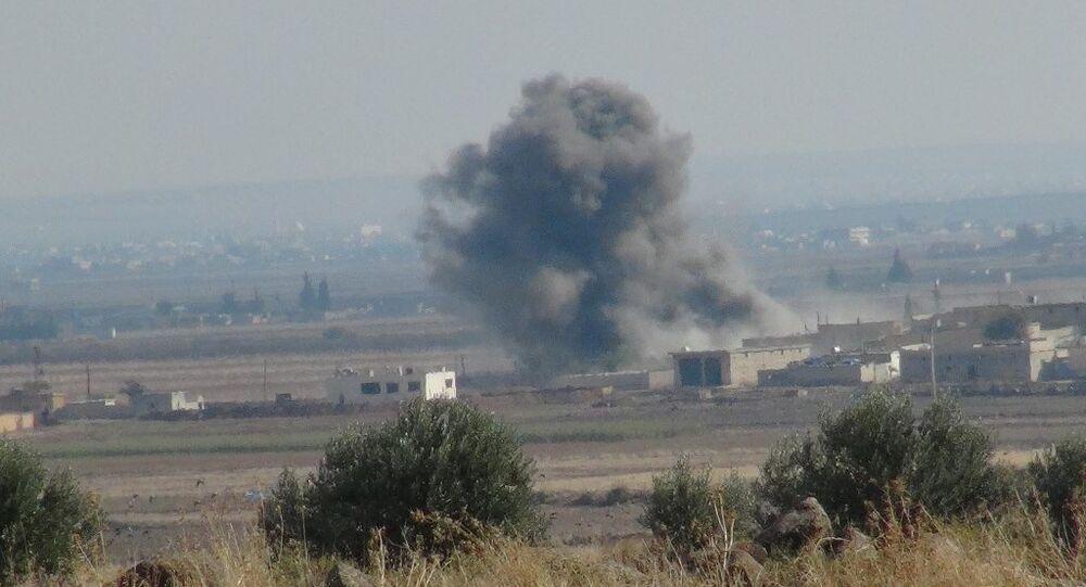 Koalisyon uçaklarından IŞİD'e hava harekatı