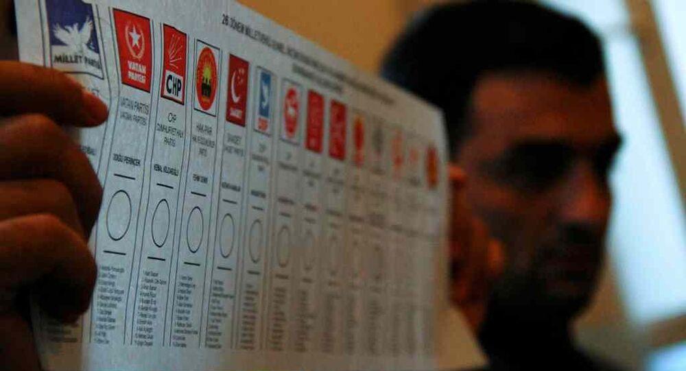 1 Kasım seçimleri