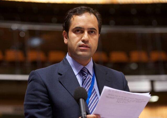 AK Parti Dış İlişkiler Başkan Yardımcısı Ahmet Berat Çonkar.