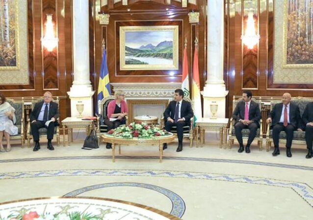 İsveç dışişleri ve savunma bakanları Erbil'de