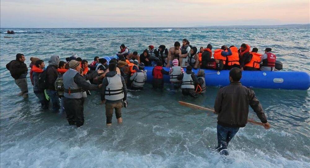 Göçmenlerin Ege'de tehlikeli yolculuğu