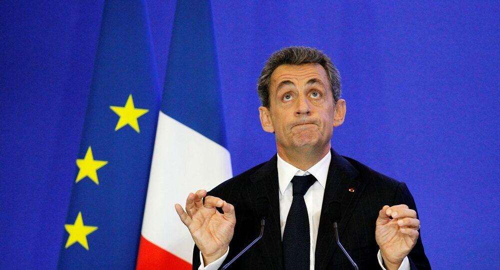 Fransa'nın eski Cumhurbaşkanı ve Cumhuriyetçiler Partisi lideri Nicolas Sarkozy