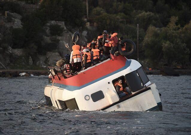 Yunanistan - Ege Denizi - sığınmacı