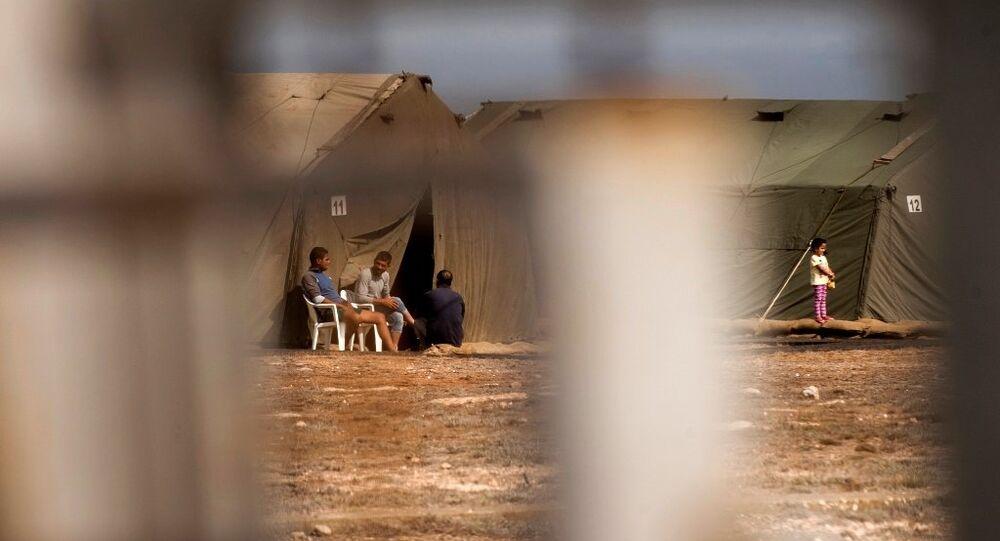 Güney Kıbrıs sığınmacılar