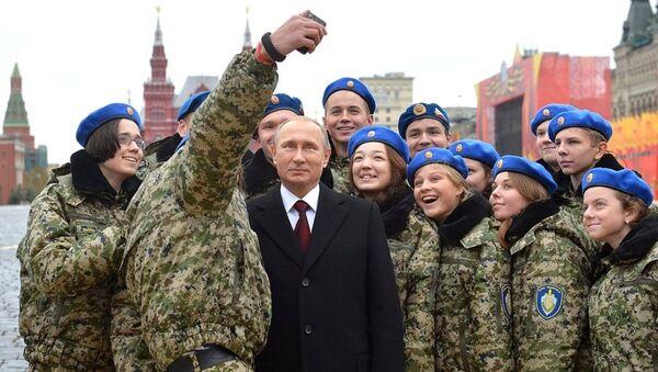 Rusya Devlet Başkanı Vladimir Putin - Ulusal Birlik Günü - Sputnik Türkiye