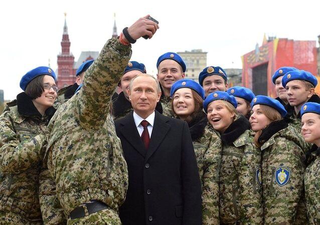 Rusya Devlet Başkanı Vladimir Putin - Ulusal Birlik Günü