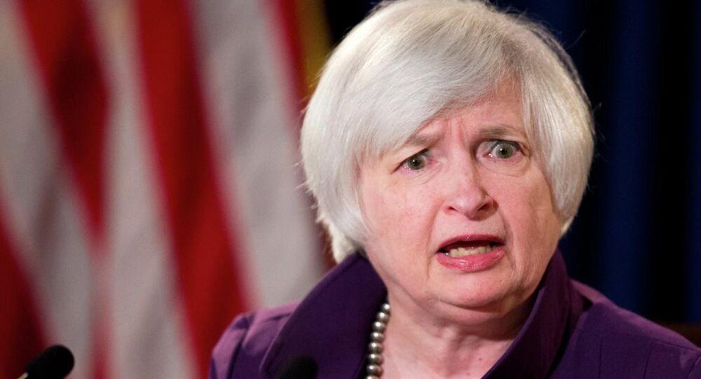 ABD Merkez Bankası Başkanı Janet Yellen.