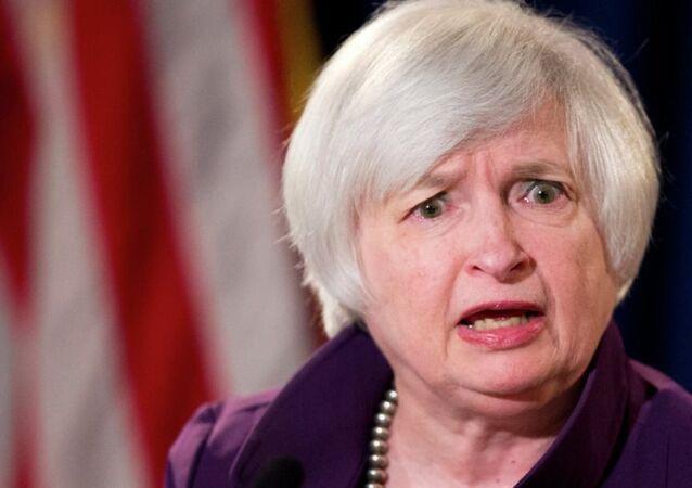 ABD Hazine Bakanı Janet Yellen,