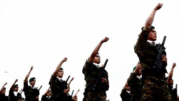 Güney Kıbrıs askerleri - Sputnik Türkiye