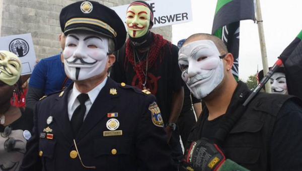ABD'de 1 milyon maske yürüyüşü - Sputnik Türkiye