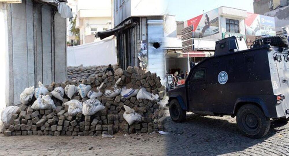 Diyarbakır Sur'da çatışma