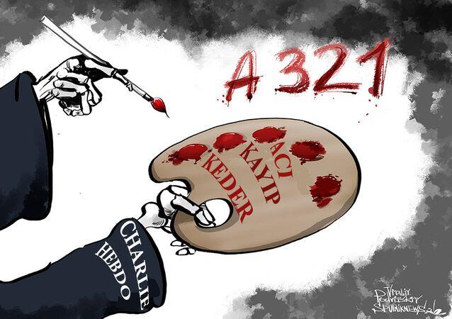 Charlie Hebdo'dan kutsal değerlere hakaret