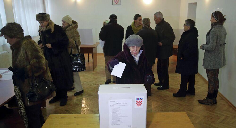 Hırvatistan - Seçim
