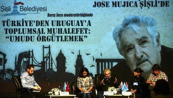 Eski Uruguay Devlet Başkanı Jose Mujica - Sputnik Türkiye